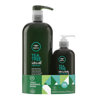 Tea Tree Special Shampoo, Hair & Body Moisturizer Duo