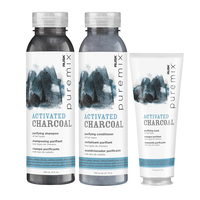 Puremix Activated Charcoal Shampoo, Conditioner, Mask