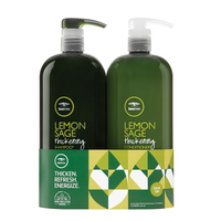 Tea Tree Lemon Sage Shampoo, Conditioner Liter Duo