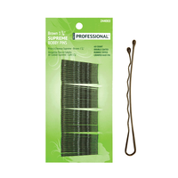 Strictly Professional Brown Bobby Pins 1 7/8 Inch