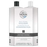 System 2 Cleanser, Scalp Therapy Liter Duo