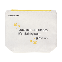 Less Is More Make-Up Bag