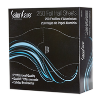 Salon Care Half Cut Foil Sheet 5 x 10.75 - 250 Count