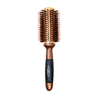 Coppery Aluminum Thermal Round Brush - 1 1/4 Inch