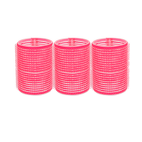 Spilo Self-Grip Rollers - 1 3/4 Inch Pink 3–Count