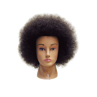 Celebrity Naomi Budget Afro Mannequin Head
