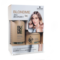 BlondMe Keratin Restore Bonding Shampoo, Mask