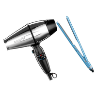 BaBylissPRO SteelFX Dryer, NT Ultra Thin Flat Iron