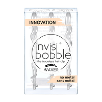 Invisibobble Waver Crystal Clear - 3 Count