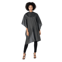 Betty Dain Black Whisper Style Cloth Cape