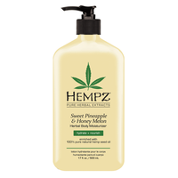 Sweet Pineapple and Honey Melon Herbal Body Moisturizer