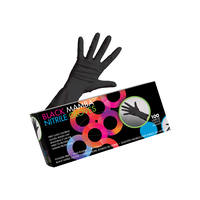 Black Mamba Nitrile Gloves - Large 100 Count