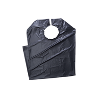 King Fortress ProCare Shampoo Cape - Black