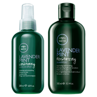 Tea Tree Lavender Mint Moisturizing Shampoo, Leave-In Spray