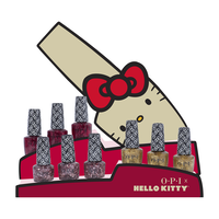 Hello Kitty Nail Lacquer - 9 Piece Glitter Display