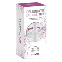Dualsenses Color Brilliance Shampoo, Conditioner Holiday Set