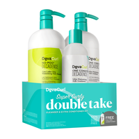 Super Curly No Poo Decadence, One Condition Decadence Trio