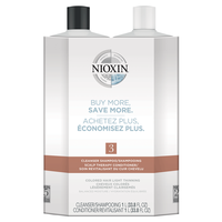 System 3 Cleanser, Scalp Therapy Liter Duo
