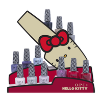 Hello Kitty Nail Lacquer - 12 Piece Display