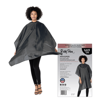 Betty Dain Whisper Styling Capes - 10 Pack
