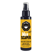 Man Scaper Beard, Hair & Tattoo Oil