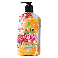 Hempz Tart & Creamy Moisturizing Body Lotion