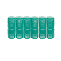 Spilo Self-Grip Rollers - 7/8 Inch Green 6–Count