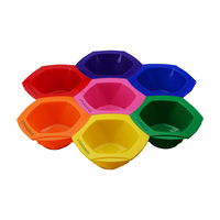 Connect and Color Bowls Rainbow - 7 Piece