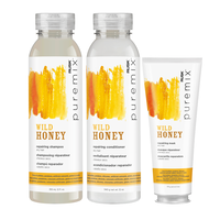PureMix Wild Honey,Shampoo, Conditioner, Mask