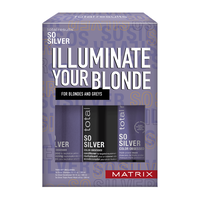 Total Results So Silver Shampoo, Conditioner, Mask