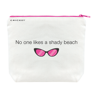 Shady Beach Make-Up Bag