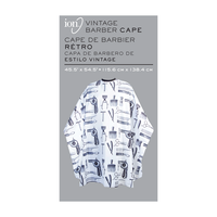 ION Barber Print Styling Cape