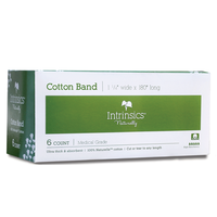 Cotton Band 1 1/4 Inch x 180 Inch - 6 Count
