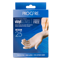 ProCare Vinyl Powder-Free Gloves - Medium