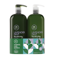 Lavender Mint Moisturizing Shampoo, Conditioner Liter Duo