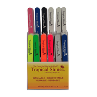 Tropical Shine Nail Files - 144 count  Display
