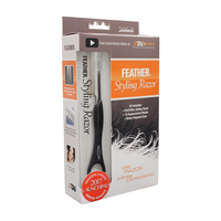 Feather Styling Razor, 10 replacement blades