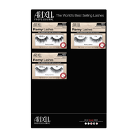 Remy Eye Lashes - 9 Count Display