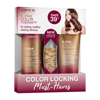 Color Therapy Shampoo, Conditioner, Luster Lock Glossing