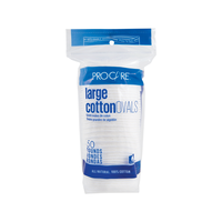Premium Cotton Ovals - 50 Count