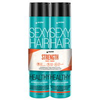 Strong Sexy Hair Strengthening Shampoo, Conditioner Duo