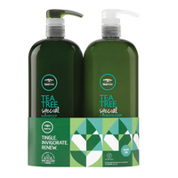 Tea Tree Special Shampoo, Special Conditioner Liter Duo