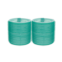 Spilo Self-Grip Rollers - 2 1/2 Inch Green 2–Count