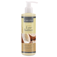 Cuccio Lyte Sheer Body Butter - Coconut & White Ginger