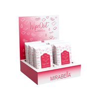 Wipe Out Make-Up Remover Wipes - 6 Count Display