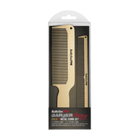 GoldFX Metal Combs 2 - Pack