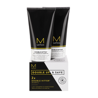Mitch Double Hitter 2-in-1 Shampoo, Conditioner Duo
