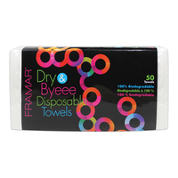 Dry & Byeee Disposable Towels - 50 Count