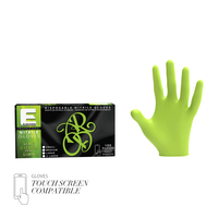 Professional Lime Nitrile Gloves