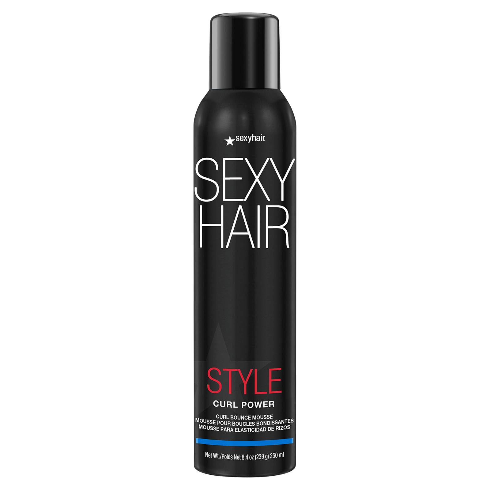 Curly Sexy Hair Curl Power Curl Bounce Mousse Sexy Hair